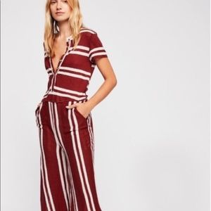 """Free people """"stand by"""" jumpsuit M"""